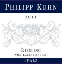 2011 Philipp Kuhn Vom Kalksteinfels Riesling