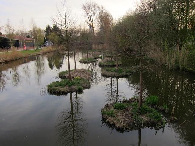 Amsterdam's Park Frankaendel area