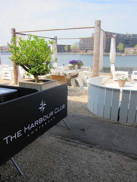 Landing dock and outer patio of The Harbour Club