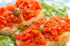 http://www.dreamstime.com/royalty-free-stock-photography-fresh-bruscjhetta-tomato-image25429457
