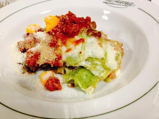Lasagna Verde at Diana