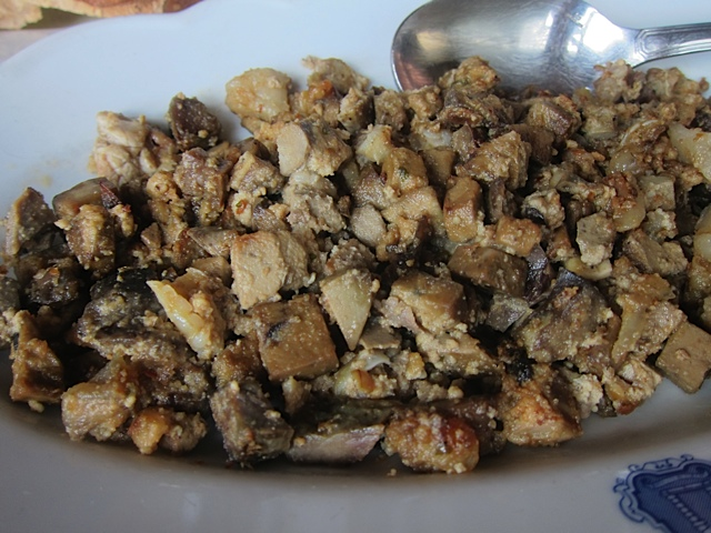 Coretello, the mountain mix of lamb innards