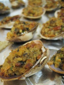 Rena Tom baked clams