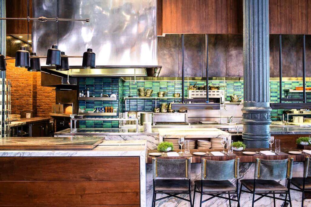 Chefs Club kitchen - credit Michael Turek