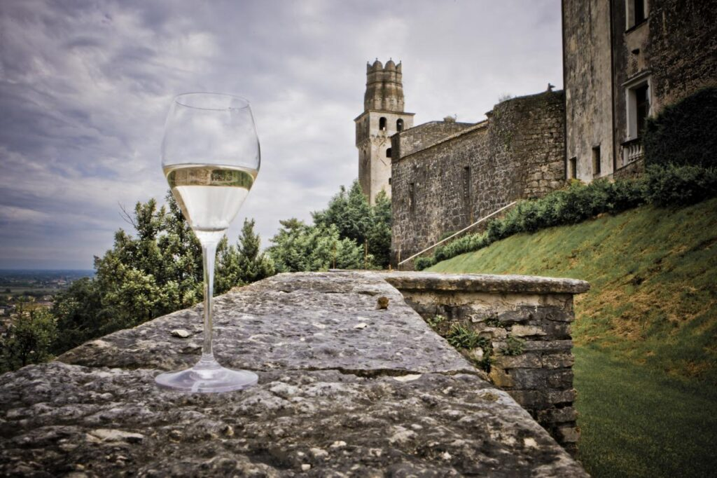 glass-with-castle-in-the-background
