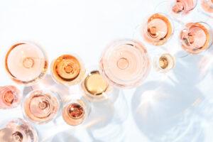 Many Varieties Of Dry Rosés