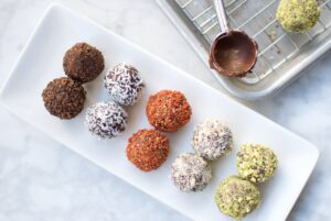 Santa's Superfood Holiday Chocolate Truffles