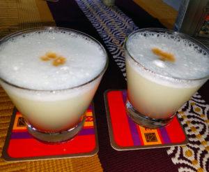 Peru Pisco Sour Cocktail in Glasses - Wine4Food