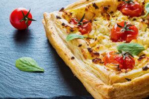 RECIPE Roasted Cherry Tomato and Feta Tart - Wine4Food